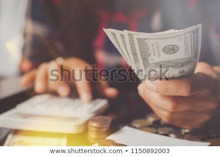 евро · спрос · тень · группа · рук · из - Сток-фото © hasenonkel