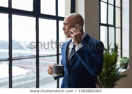 Businessman having phone call Stock photo © wavebreak_media