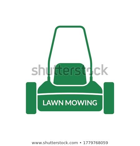 cięcie · zielona · trawa · trawy · pracy · charakter - zdjęcia stock © goce