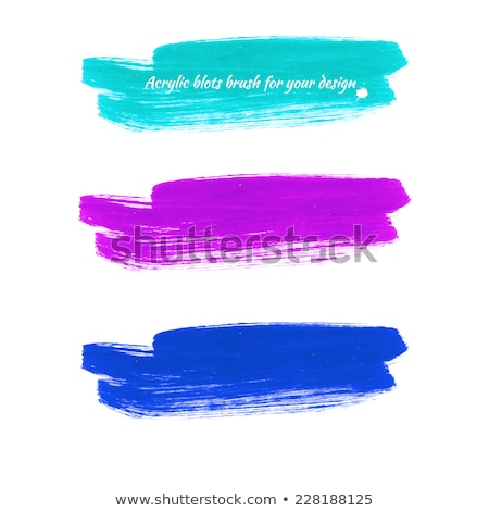 Paint Brush Pink Vector Button Icon Stock photo © rizwanali3d