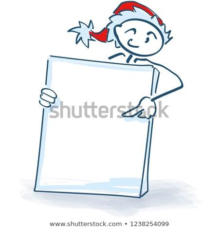 kadzidło · palacz · Święty · mikołaj · rysunku · człowiek · Świeca - zdjęcia stock © ustofre9