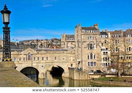 köprü · nehir · banyo · kilise · can · mimari - stok fotoğraf © vichie81