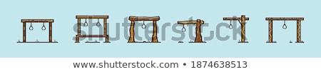 ley · justicia · sólido · iconos · de · la · web · vector · establecer - foto stock © -talex-