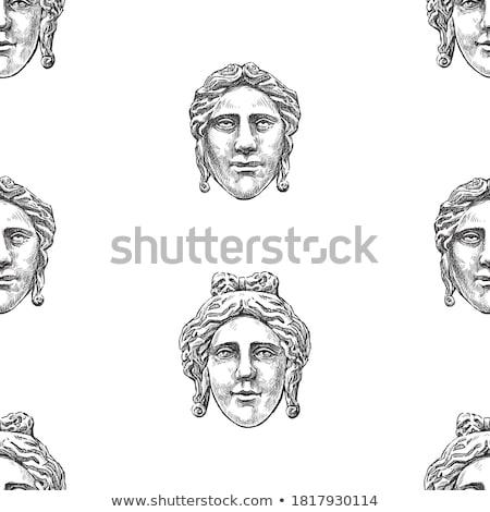 рельеф человека лице человека портрет антикварная Сток-фото © Digifoodstock