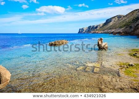 praia · água · natureza · paisagem · luz · mar - foto stock © lunamarina
