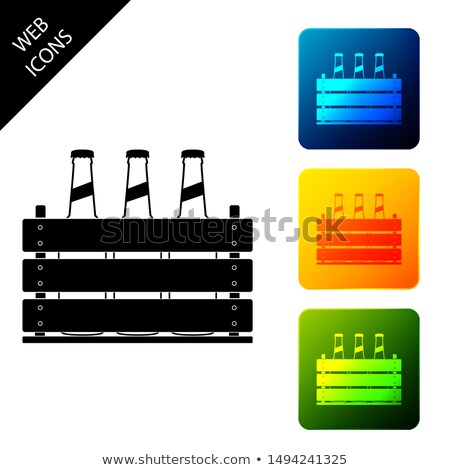 colorido · garrafas · projeto · fundo · arte · beber - foto stock © bluering