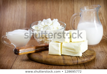 Margarine, butter or cream cheese Stock photo © magraphics