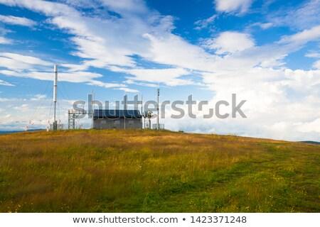 Incroyable matin Autriche météorologiques vue montagnes Photo stock © CaptureLight