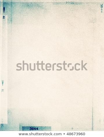 Grunge frame made from photo film strip Stock photo © carenas1