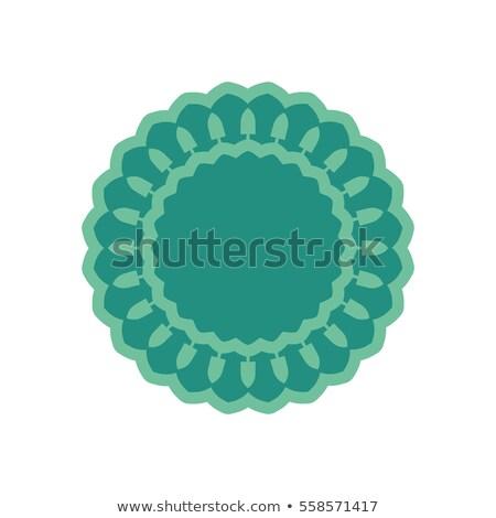 шаблон символ орнамент эмблема мусульманских Сток-фото © popaukropa