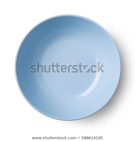 Square blue dinner plate Stock photo © Digifoodstock