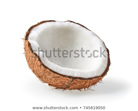 fresh coconut halves Stock photo © Digifoodstock