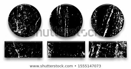 Vignette étiquettes granit professionnels icônes Photo stock © micromaniac