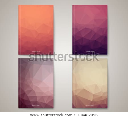Catalog Cover Design Vector. Corporate Business Template. Template For Design. Ilustration Stock photo © pikepicture
