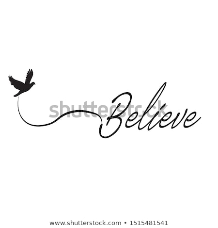 rezando · manos · luz · hombre · comprometido - foto stock © imabase
