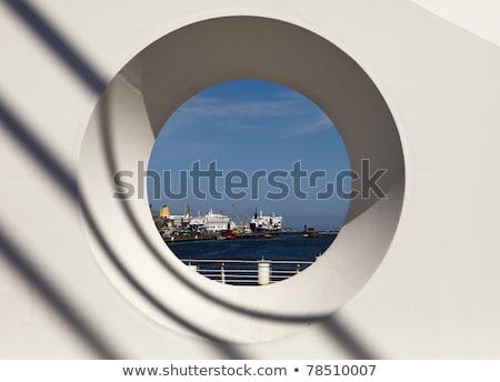 Dublin kikötő kör kilátás hajók Írország Stock fotó © searagen