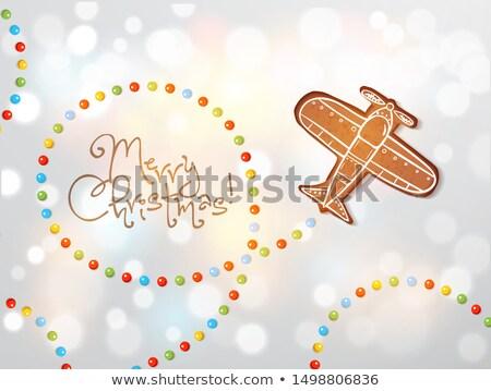 elegant chrismtas cookies Stock photo © M-studio