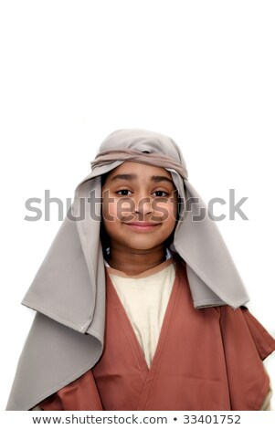 Boy Joseph Costume Stock photo © lenm