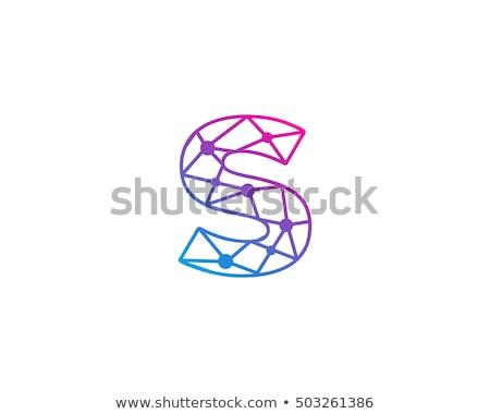 Levél gradiens logotípus vektor ikon név Stock fotó © blaskorizov