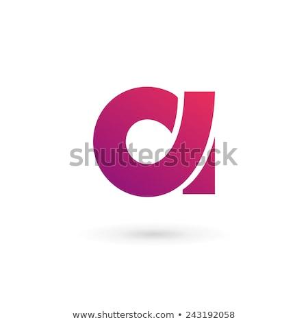 Logotípus üzleti logo levél vektor felirat terv Stock fotó © blaskorizov