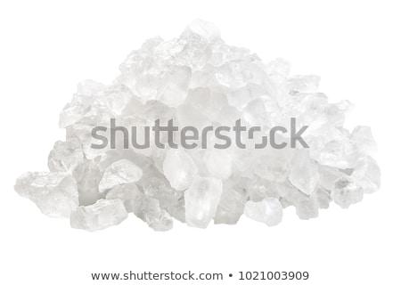 nátrium · nagy · köteg · frissen · só · szett - stock fotó © maxsol7