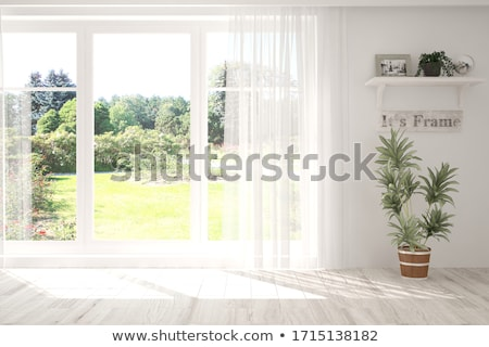 Stock photo: Summer window