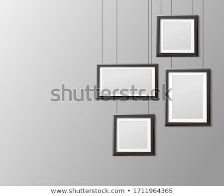 poster · plaats · ontwerp · textuur · man - stockfoto © marysan