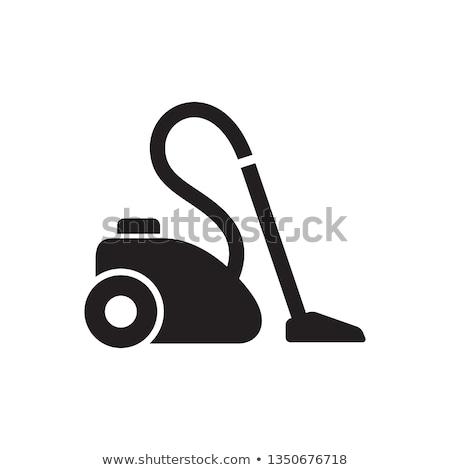 икона пылесос тонкий линия дизайна дома Сток-фото © angelp