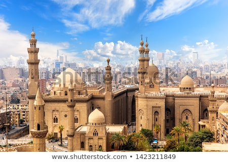 Mosque Sultan Hassan Stock photo © Givaga