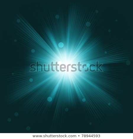 Lens flare burst background. EPS 8 Stock photo © beholdereye