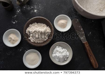 自家製 · 小麦粉 · ブレンド · コメ · ジャガイモ - ストックフォト © melnyk