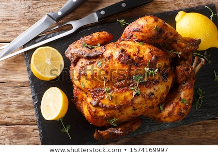 Stockfoto: Geheel · citroen · tabel · top · voedsel