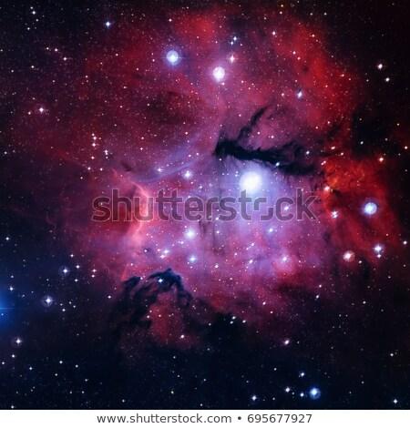 Sakız 15 nebula takımyıldız katalog elemanları Stok fotoğraf © NASA_images