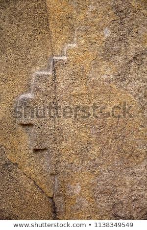 台無しにする · 寺 · ペルー · 壁 · レンガ - ストックフォト © boggy