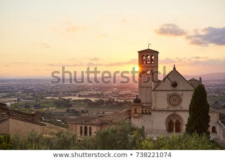 Basiliek Italië moeder kerk Romeinse katholiek Stockfoto © borisb17