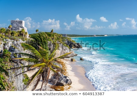 Stock photo: El Castillo, Tulum