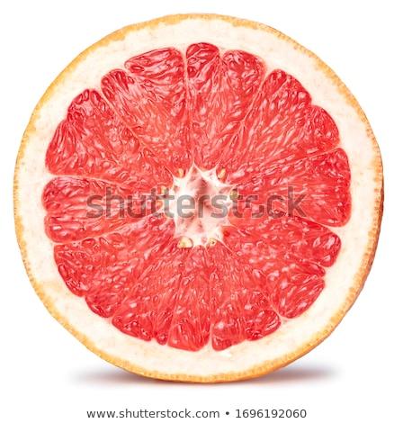 Organikus grapefruit fehér étel természet háttér Stock fotó © bdspn