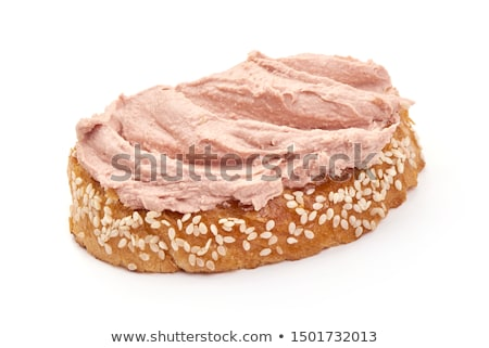 Slice of bread with pate Stock photo © Alex9500