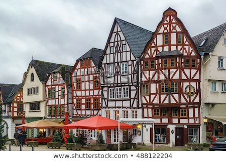 street in limburg germany stock photo © borisb17