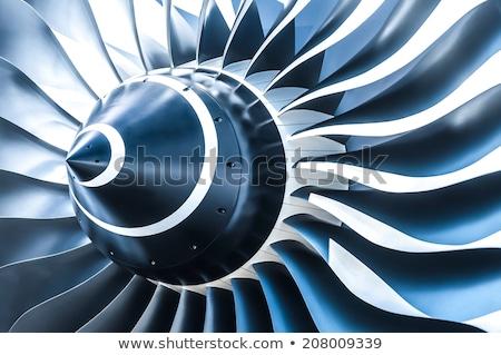 Jet turbine Stock photo © montego
