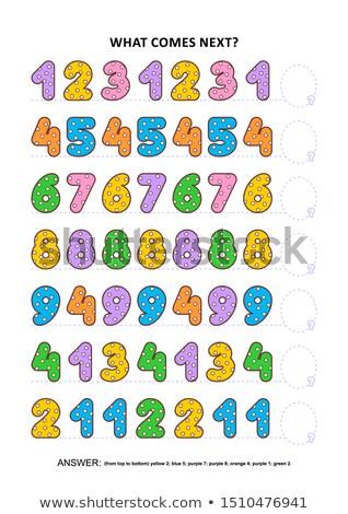 encontrar · próximo · enigma · educativo · juego · ninos - foto stock © olena