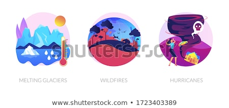 Climate change consequences vector concept metaphor. Stock photo © RAStudio