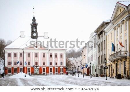 ратуша квадратный Эстония основной дома городского Сток-фото © borisb17