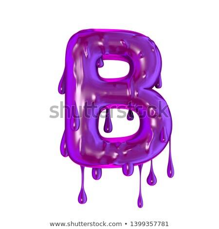 Capital letter B Stock photo © grafvision