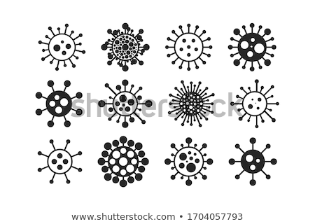Vírus desenho animado projeto vetor bactérias Foto stock © ExpressVectors
