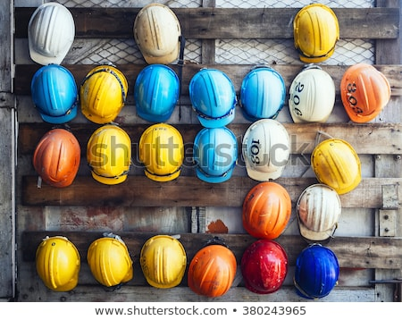 Worker with safety helmet Stock photo © olira