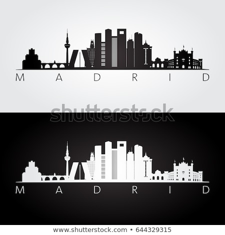 Madrid_Skyline Stock photo © unkreatives