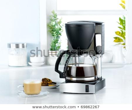 Coffee-maker boils coffee Stock photo © RuslanOmega