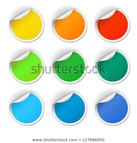 Purple rounded rectangle bookmark  Stock photo © orson