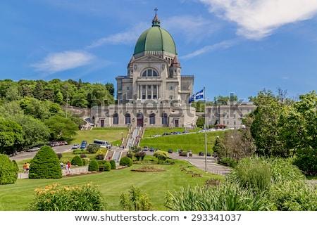 ver · Montreal · Canadá · edifício · atravessar - foto stock © aladin66